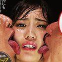 美女のお顔をベロベロ舐めたい 美谷朱里 冒頭から魅せるンストップ大量唾での濃厚顔舐め